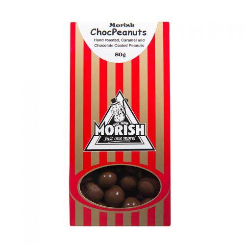 Morish Chocolate Peanuts 80g